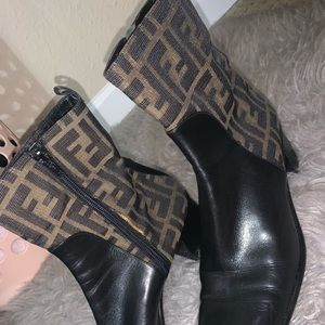 Vintage Fendi Boots!